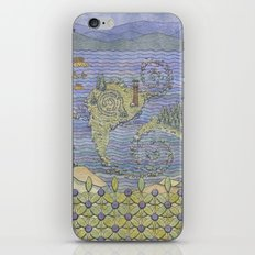 The North Summer. White Sea. iPhone & iPod Skin
