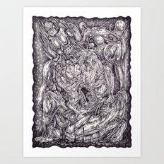 Genuflect Art Print