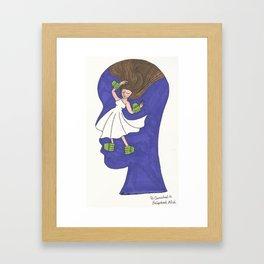 Encaptured Mind Framed Art Print
