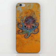 Baby Octopus iPhone & iPod Skin
