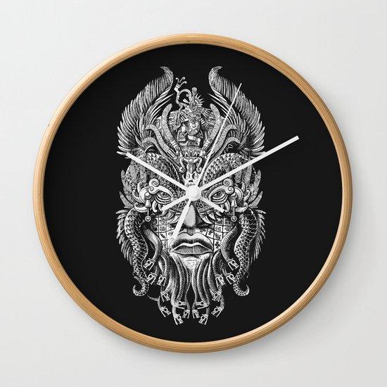Queztalcoatl Wall Clock