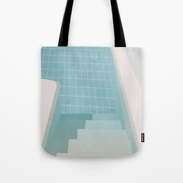 Swimming Pool Summer Tote Bag