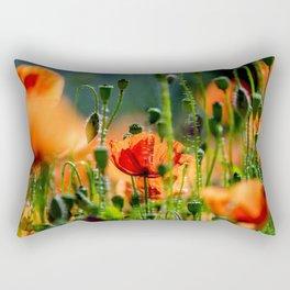 poppy dream Rectangular Pillow