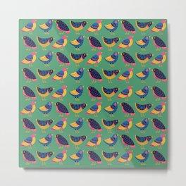 Fly Little Bird Metal Print