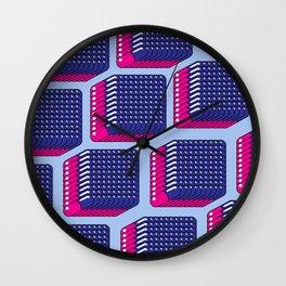 BLUE PILL PINK PILL Wall Clock