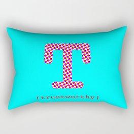 #T [trustworthy] Rectangular Pillow