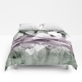 Pink  Exposures Comforters