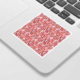 Together Strong - Women Power Coral Sticker