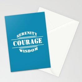 Serenity, Courage, Wisdom Stationery Cards
