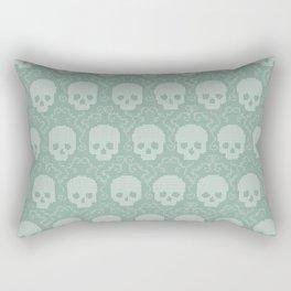 8 Bit Skulls Rectangular Pillow
