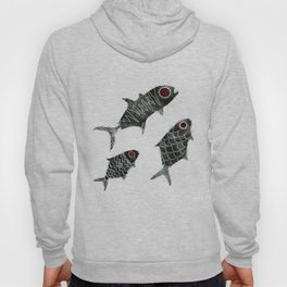 Curious Fishies Hoody