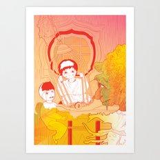 Hansel e Gretel 02 Art Print