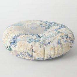 Paul Signac Le Pont des Arts Floor Pillow