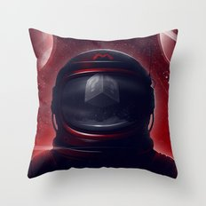 Super Mario Galaxy Throw Pillow