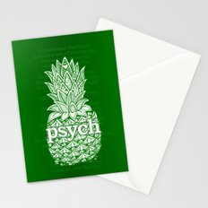 Psych Pineapple! Stationery Cards