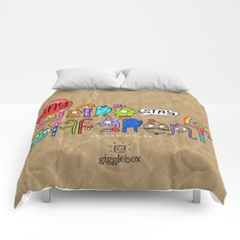 Stay Weird. Stay Different. Comforters