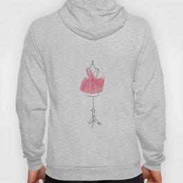 Pink dress Hoody