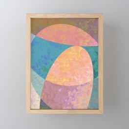 Stones Framed Mini Art Print
