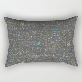 Math Lesson Rectangular Pillow