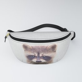 Raccoon - Colorful Fanny Pack