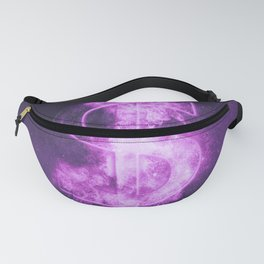 Dollar sign, Dollar Symbol. Monetary currency symbol. Abstract night sky background. Fanny Pack