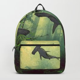 Sharks in the Forest Backpack