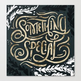 Something Special Canvas Print