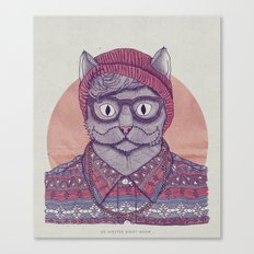 So Hipster Canvas Print