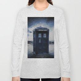 Doctor who - Tardis polygon Long Sleeve T-shirt