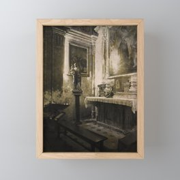 the votive Framed Mini Art Print