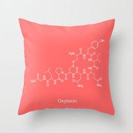 Oxytocin Throw Pillow