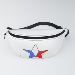 Flag of France 14- France, Français,française, French,romantic,love,gastronomy Fanny Pack