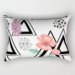 Boho background Rectangular Pillow