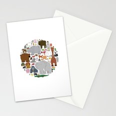 The Animal Kingdom Stationery Cards