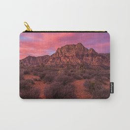 Sunrise at Red Rock Carry-All Pouch