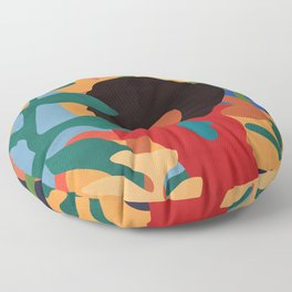 Get lost in nature and you will find yourself  #art print #abstract art Floor Pillow