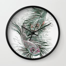 The Water Trimmer Wall Clock
