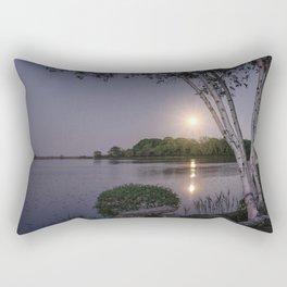 Niles Pond Moon Rise Rectangular Pillow