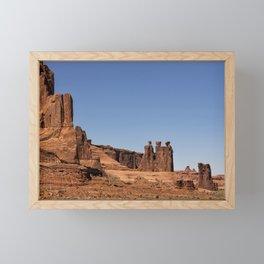 Three Gossips - Arches National Park Framed Mini Art Print