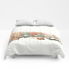 Venice, Italy Surreal Grand Canal Comforters
