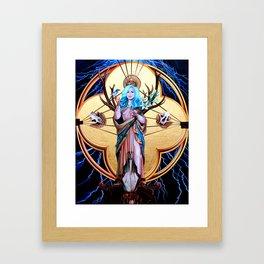 Ecos of Thunder Painting Framed Art Print