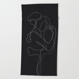 Lovers DarkVersion Beach Towel