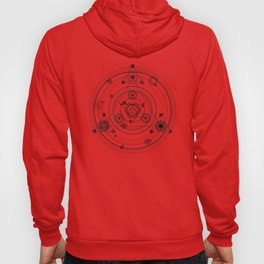 Sacred geometry and geometric alchemy design Hoody
