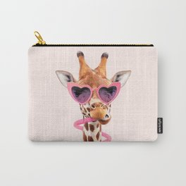 THIRSTY GIRAFFE Carry-All Pouch