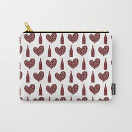 Wine Lover Pattern Carry-All Pouch