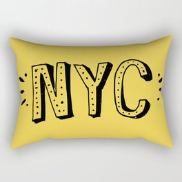 NYC lettering series: #2 Rectangular Pillow