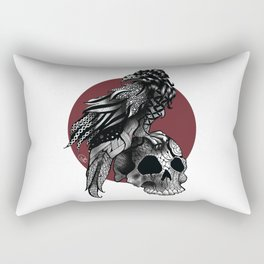 Crow crown Rectangular Pillow