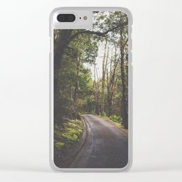 Tasmania | Cradle Mountain Road Clear iPhone Case