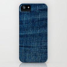 denim*Trompe l'oeil Slim Case iPhone (5, 5s)