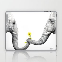 """""""Up Close You Are More Wrinkly Than I Remembered"""" Laptop & iPad Skin"""